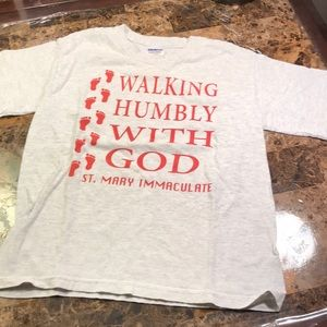 Other - Kids t-shirt light gray Walk with God Medium